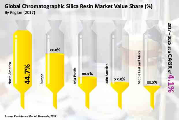 chromatographic silica resin market