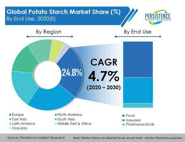 global potato starch market end use