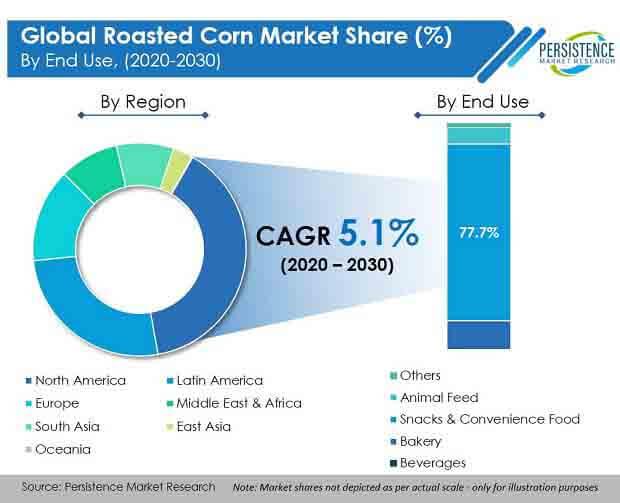 global roasted corn market