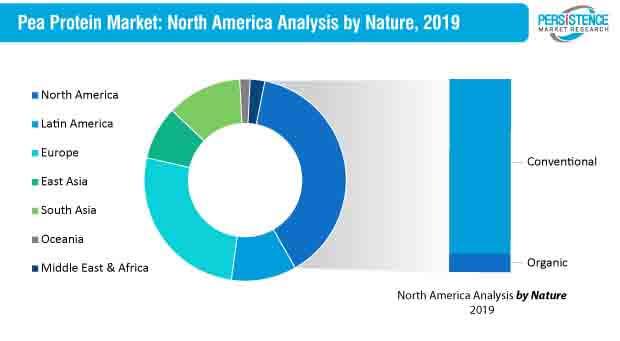 pea protein market north america